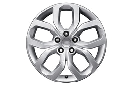"Alloy Wheel - 19"" Style 5021, 5 split-spoke"