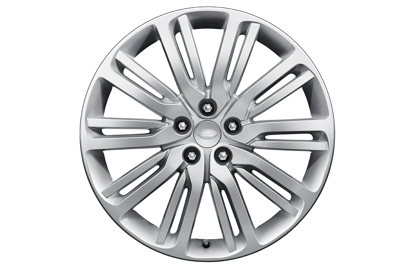 "Alloy Wheel - 21"" Style 1012, 10 split-spoke"