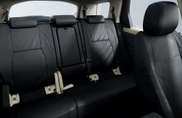 Waterproof Seat Covers - Ebony, Second Row