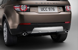 Stainless Steel Undershield - Rear