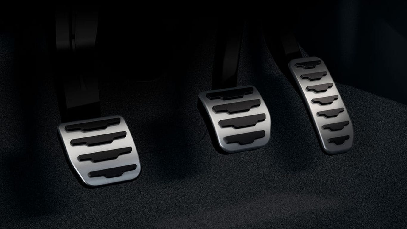 Sport Pedal Covers - Manual