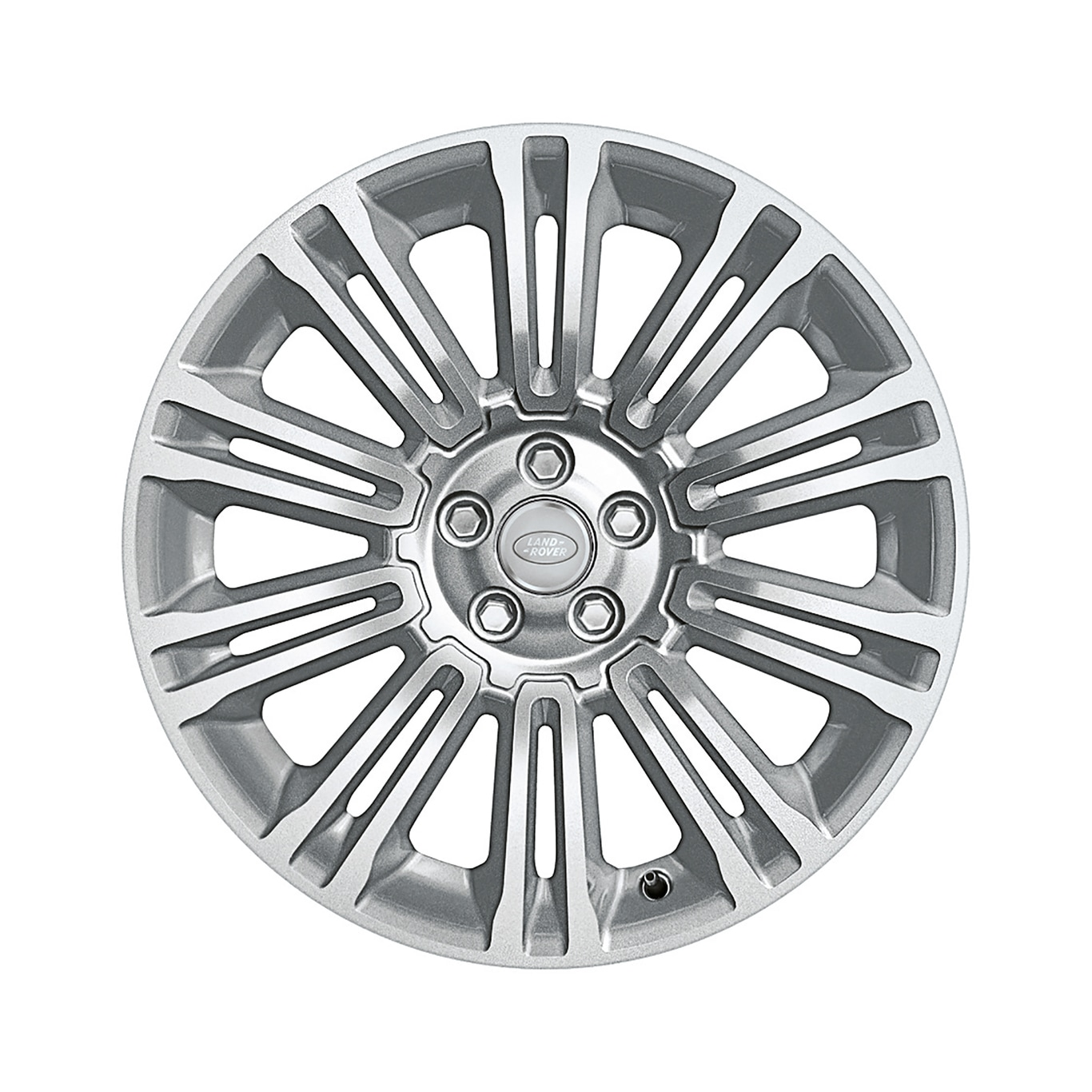 "Alloy Wheel - 19"" Style 1002, 10 split-spoke, Sparkle"