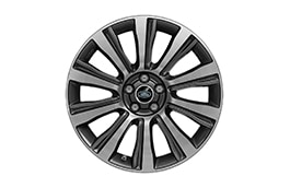 "Alloy Wheel - 19"" Style 1003, 10 spoke, Diamond Turned finish"