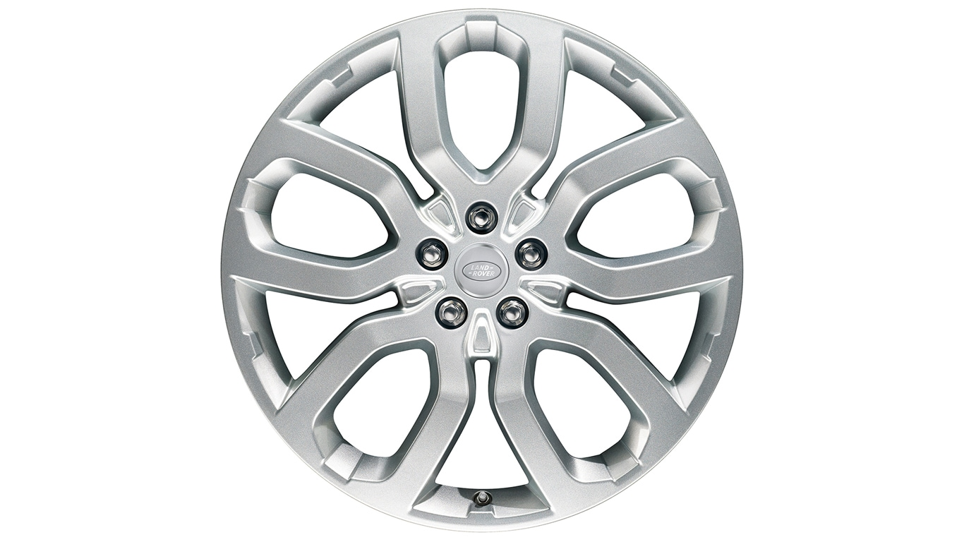 "Alloy Wheel - 22"" Style 5004, 5 split-spoke"