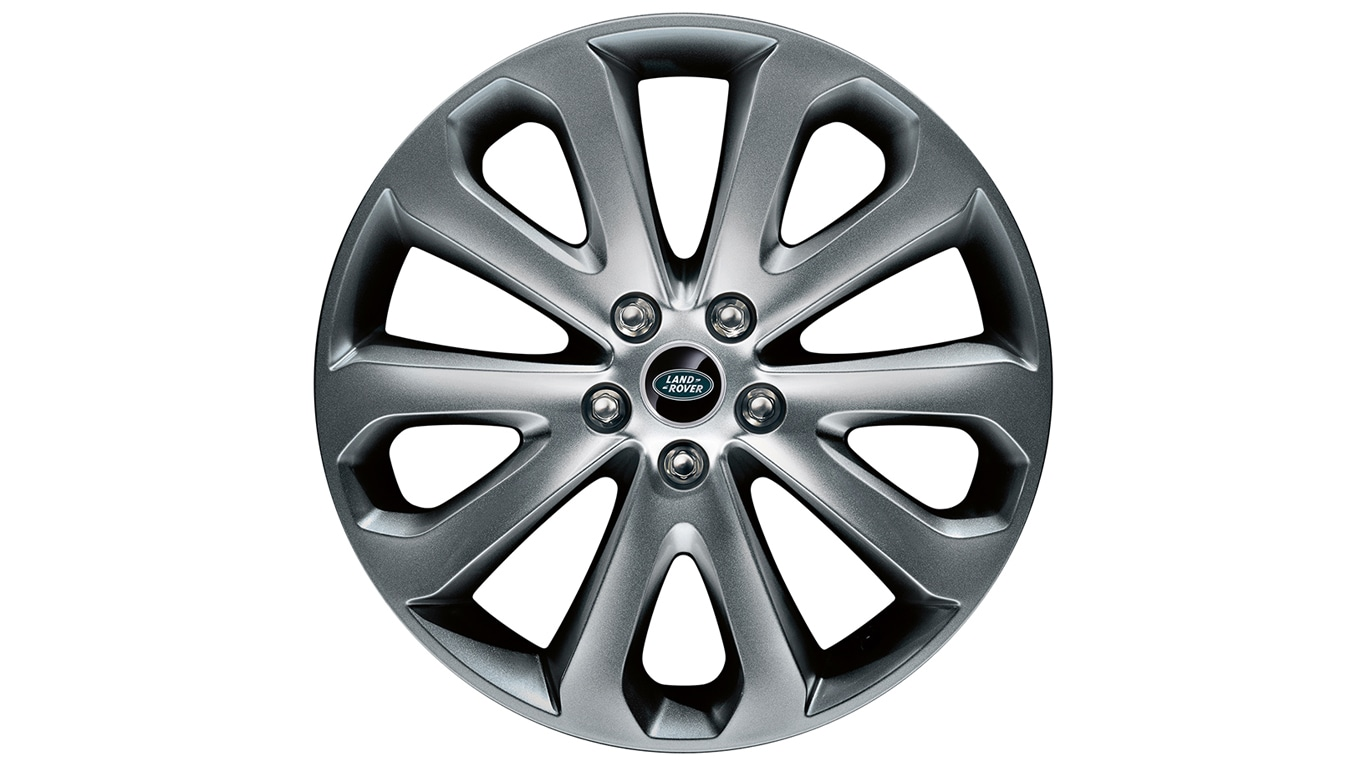 "Alloy Wheel - 20"" Style 5002, 5 split-spoke, Shadow Chrome"
