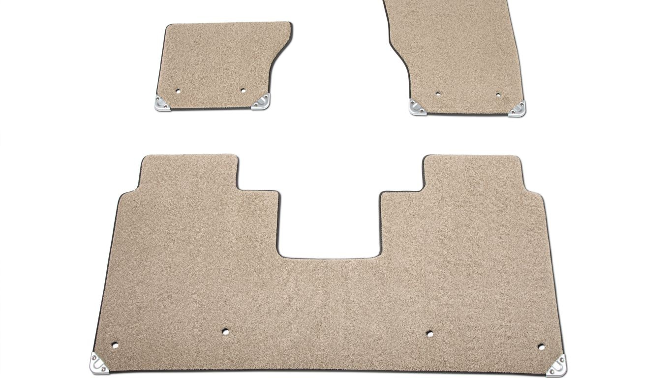 Premium Carpet Mat Set - Almond, LHD, LWB