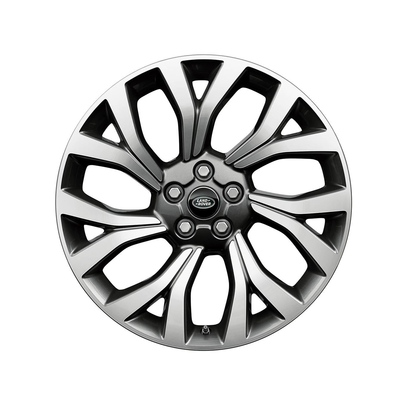 "Lichtmetalen velg - 21"" 7 dubbele spaken, 'Styling 7001', in Light silver Diamond Turned finish"