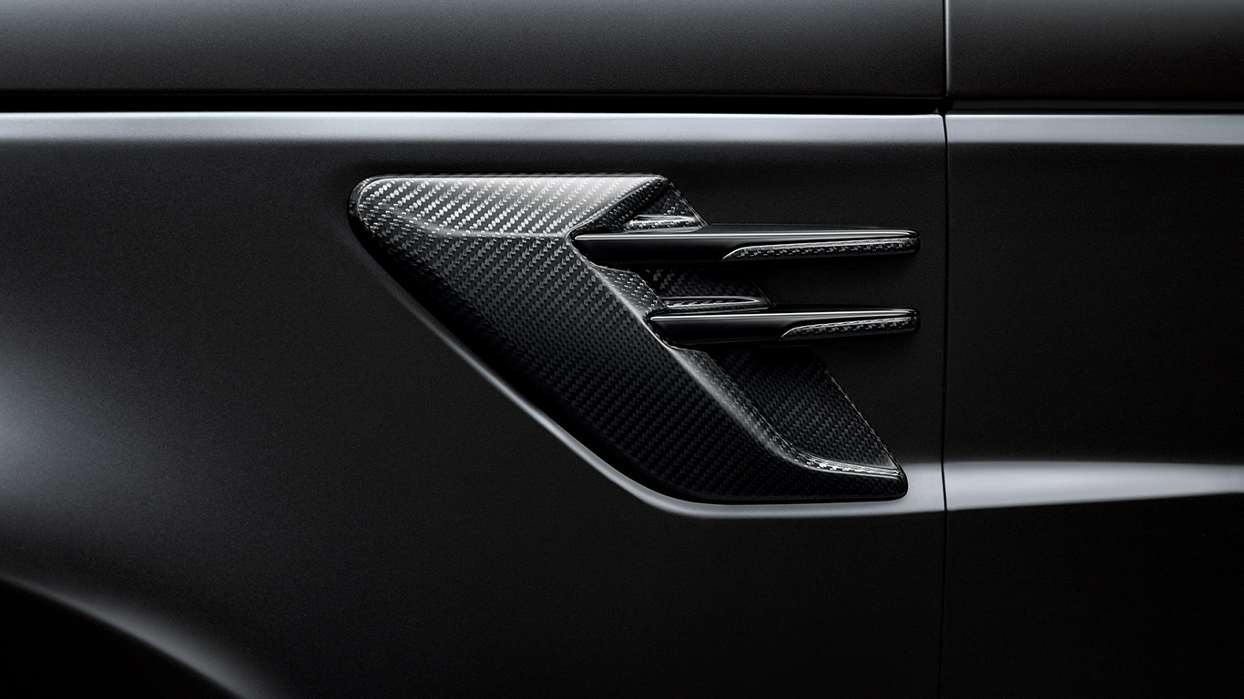 Side Vent - Carbon Fibre, Left Side, 18MY onwards