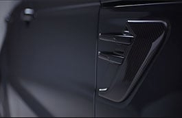 Side Vent - Carbon Fibre, Right Side, 18MY onwards
