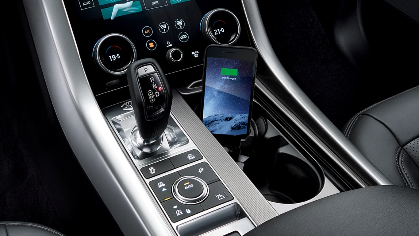 Range Rover Sport >> LAND ROVER ACCESSORIES - RANGE ROVER SPORT - INTERIOR - FUNCTION & TECHNOLOGY - iPhone® Connect ...