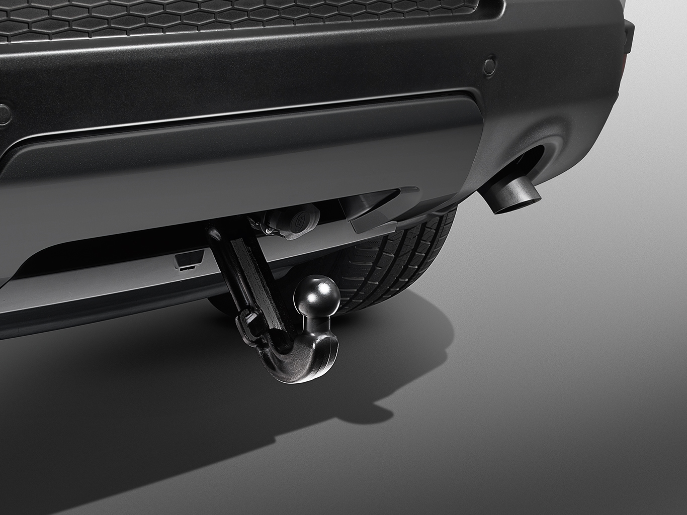 Towing System - Electrically Deployable Tow Bar