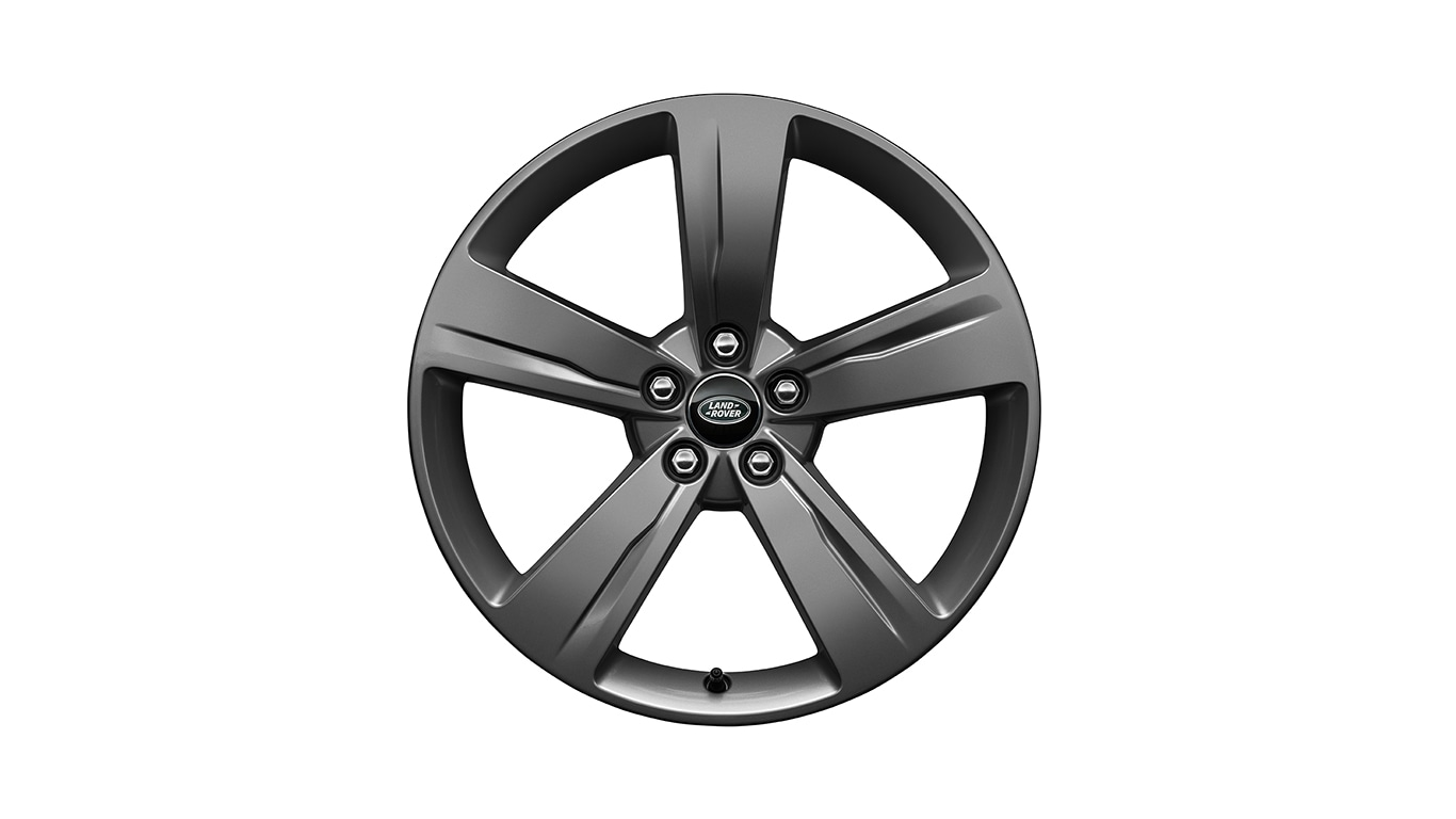 "Alloy Wheel - 19"" Style 5046, 5 spoke, Satin Dark Grey"