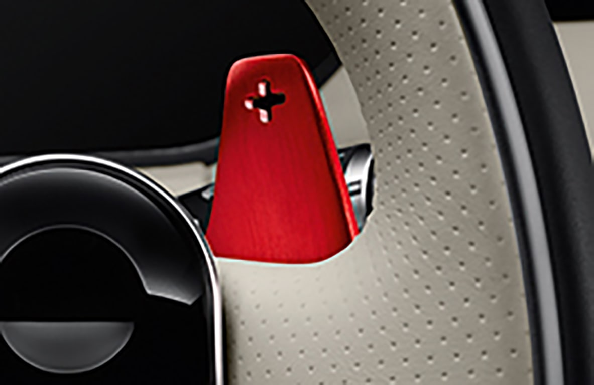 Gearshift Paddles - Aluminium Red