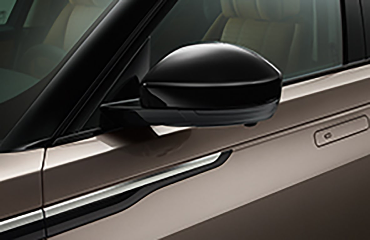 Mirror Covers - Gloss Black