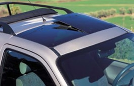 Removable Glass Roof Panels