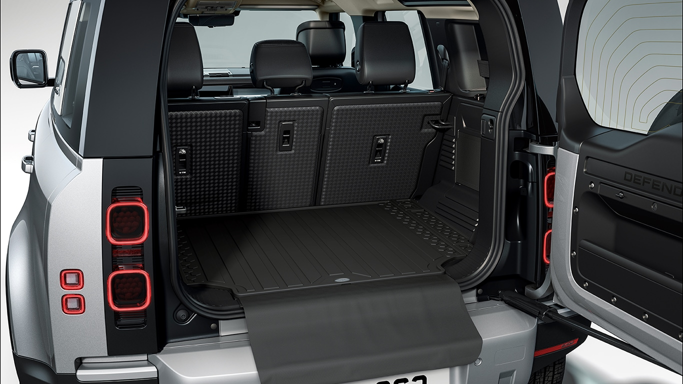 Interior Protection Pack - RHD, 110, 5 seat, with Rubber Mats
