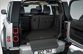 Interior Protection Pack - RHD, 110, 5+2 seat, Rubber and Luxury Mats